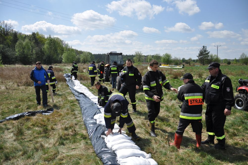 Ćwiczenia zgrywające wzakresie zabezpieczenia przeciwpowodziowego od rzeki Osa